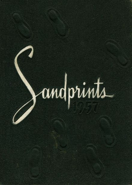 1957 Sanford Central High School Yearbook Cover