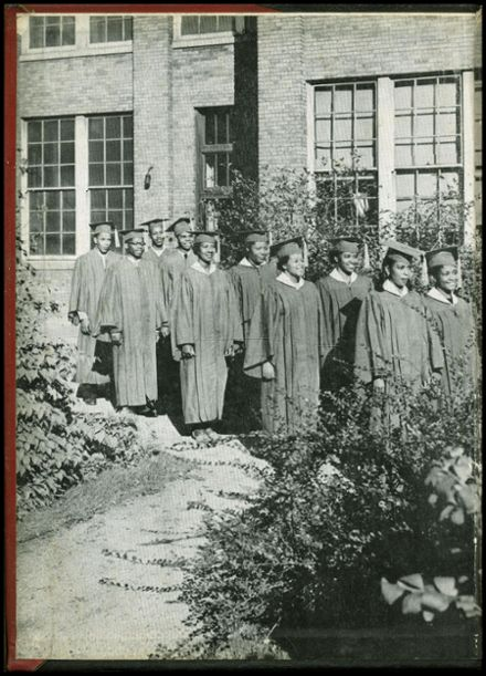 1954 Dusable High School Yearbook Page 2