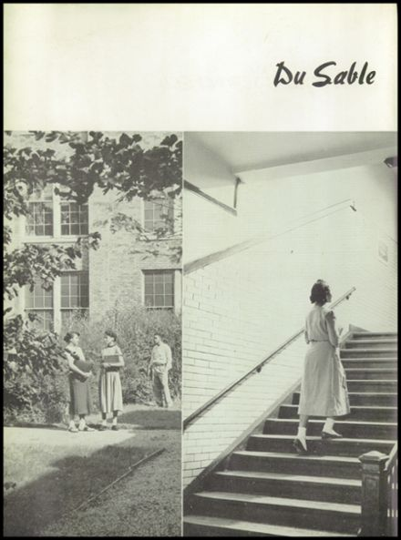 1954 Dusable High School Yearbook Page 4
