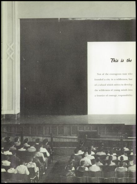 1954 Dusable High School Yearbook Page 6