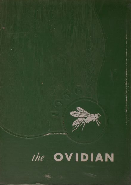1956 Ovid Central High School Yearbook Cover