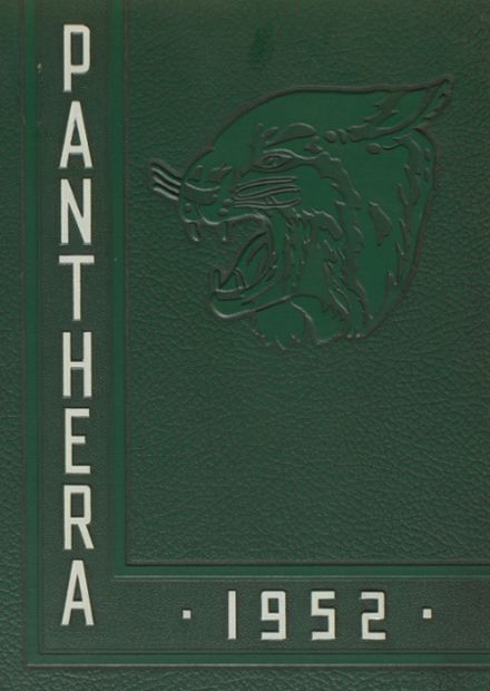 1952 Campbell High School Yearbook Cover