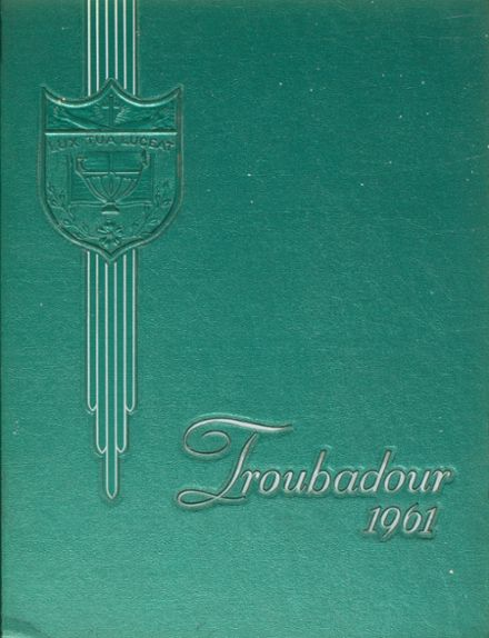 1961 Catholic High School of Baltimore Yearbook Cover