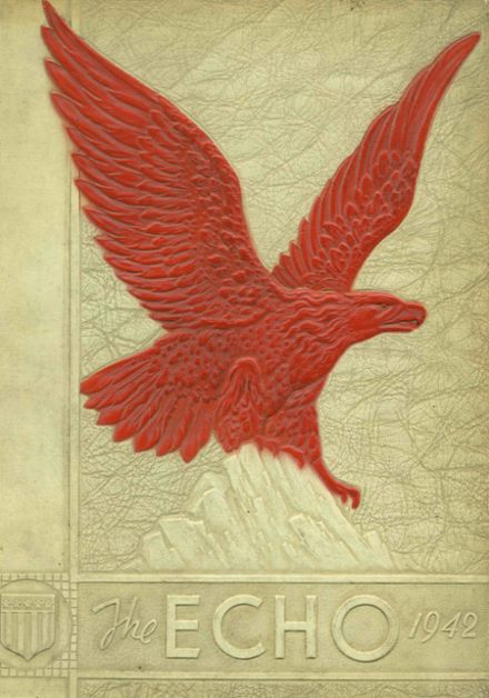 1942 Duquesne High School Yearbook Cover