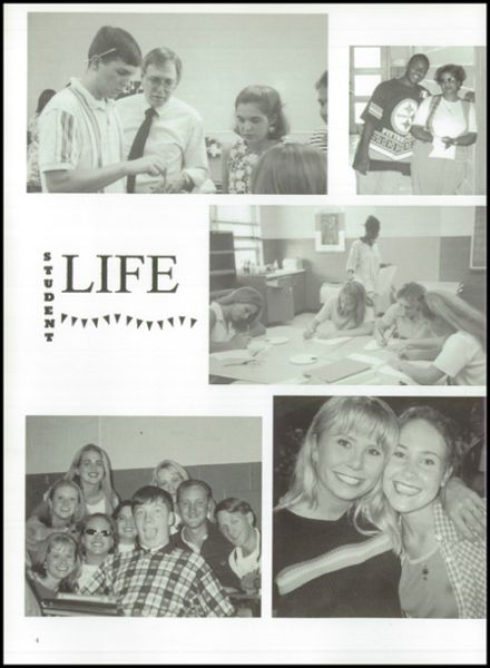 1998 Florence High School Yearbook Page 8