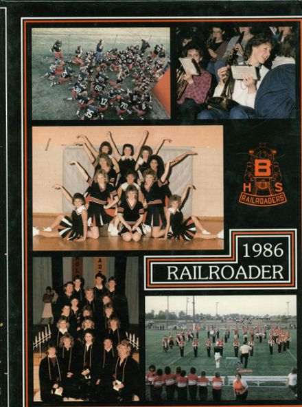 1986 Bradford High School Yearbook Cover