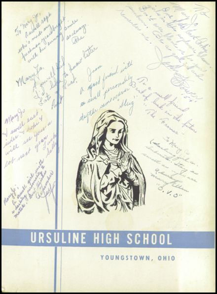 1953 Ursuline High School Yearbook Page 5