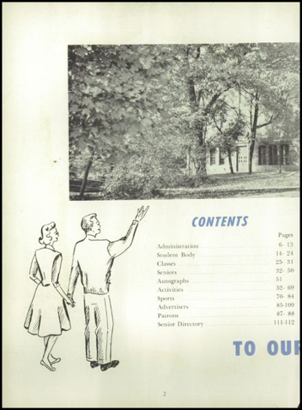 1953 Ursuline High School Yearbook Page 6