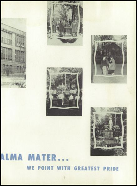 1953 Ursuline High School Yearbook Page 7