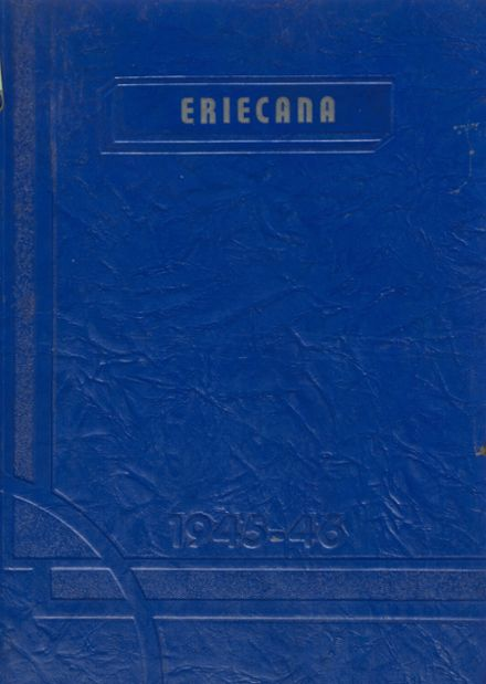 1946 Erie High School Yearbook Cover