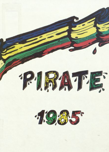 1985 Winfield City High School Yearbook Cover