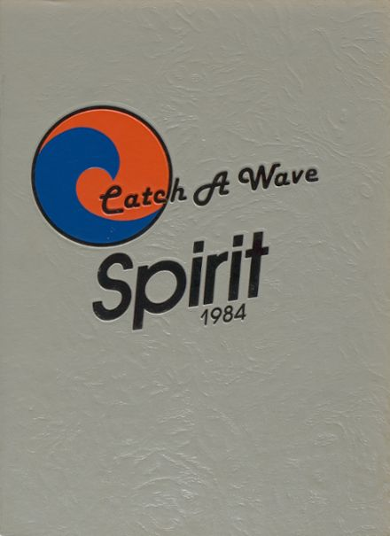 1984 Johnson High School Yearbook Cover