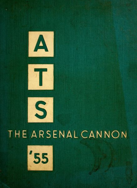 1955 Arsenal Technical High School 716 Yearbook Cover