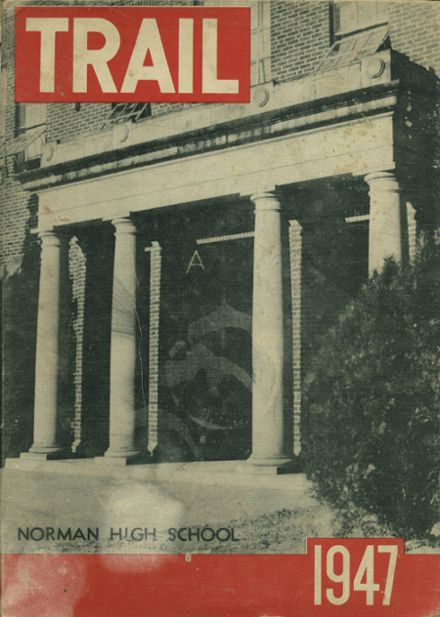 1947 Norman High School Yearbook Cover