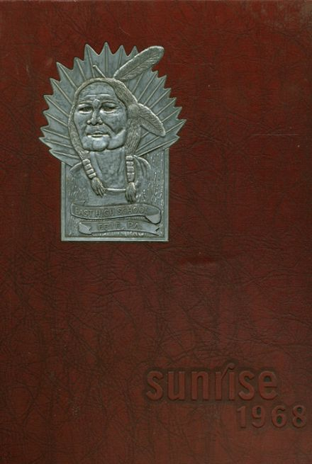 1968 East High School Yearbook Cover