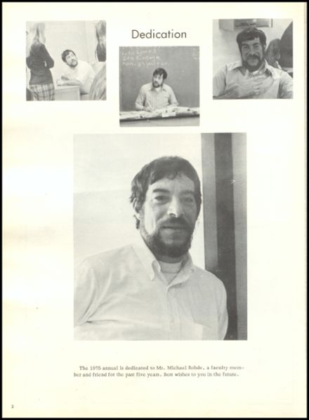 1975 Rib Lake High School Yearbook Page 6