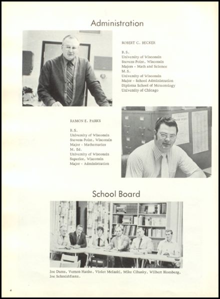 1975 Rib Lake High School Yearbook Page 8