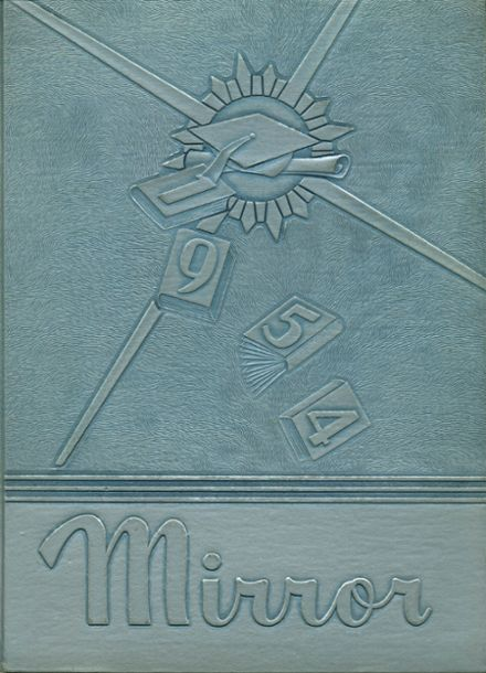 1954 East Huntingdon High School Yearbook Cover