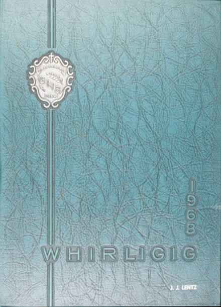 1968 Grimsley High School Yearbook Cover