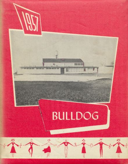 1957 Hi Plains High School Yearbook Cover