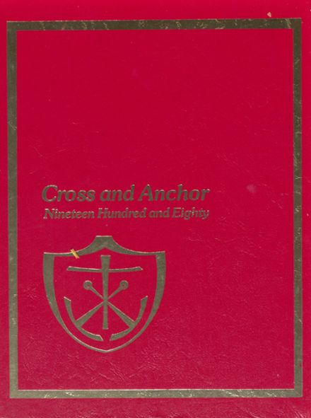 1980 Academy of The Holy Cross Yearbook Cover