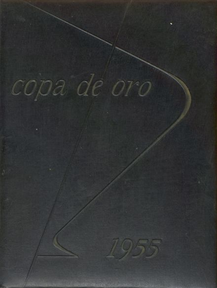 1955 South Pasadena High School Yearbook Cover