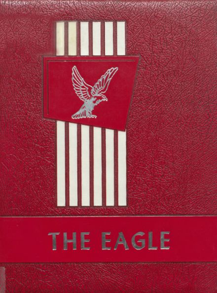 1961 Coldspring High School Yearbook Cover
