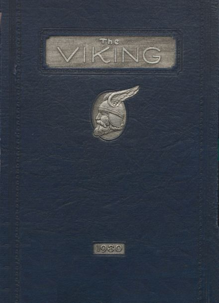 1930 Puyallup High School Yearbook Cover