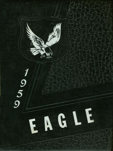 1959 Udall High School Yearbook Cover