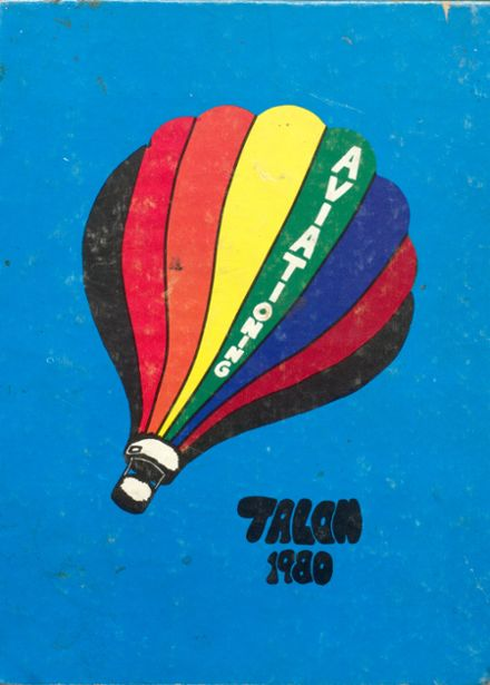 1980 Aviation High School Yearbook Cover