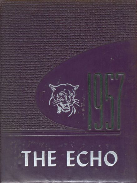 1957 Woodlawn High School Yearbook Cover