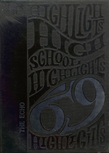 1969 Bland High School Yearbook Cover