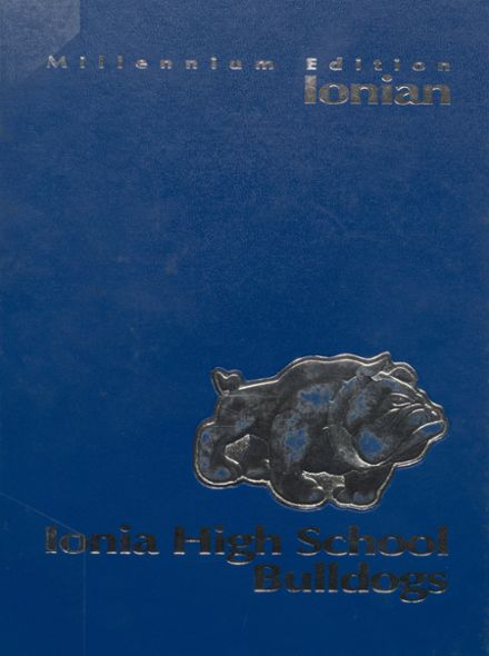 2000 Ionia High School Yearbook Cover