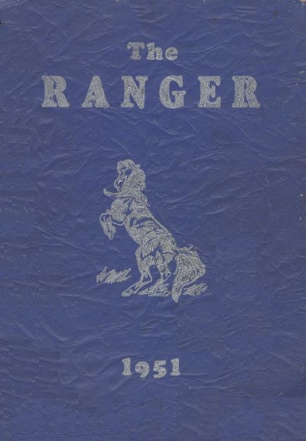 1951 Midvale High School Yearbook Cover