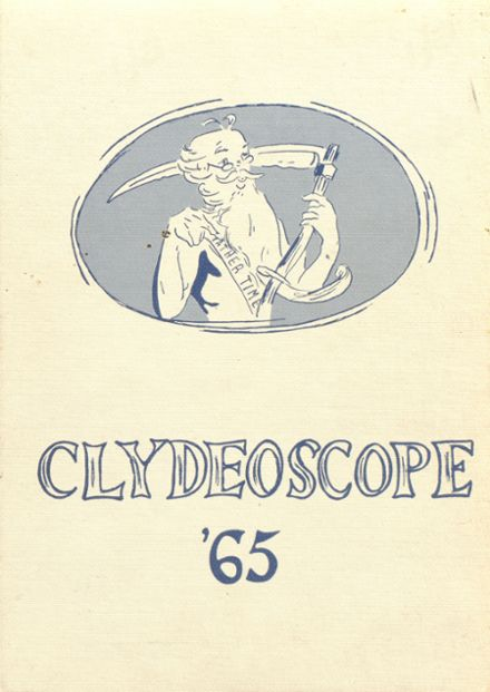 1965 Clyde Savannah High School Yearbook Cover