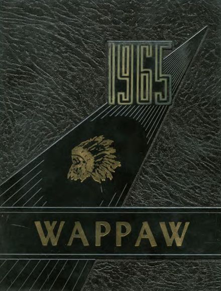 1965 Paw Paw High School Yearbook Cover