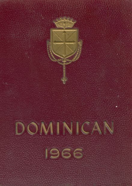 1966 Dominican Academy Yearbook Cover