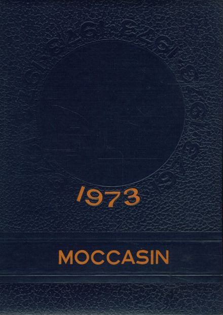 1973 Centennial High School Yearbook Cover