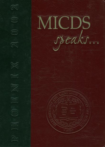 2002 St. Louis Country Day School Yearbook Cover