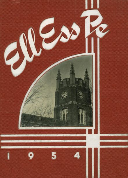 1954 La Salle-Peru Township High School Yearbook Cover