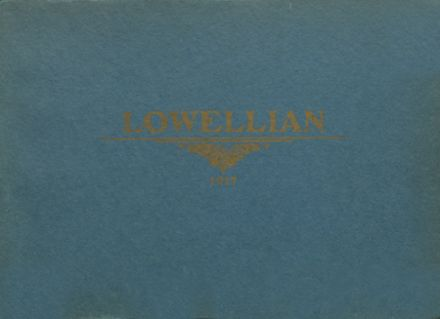 1917 Lowell High School Yearbook Cover