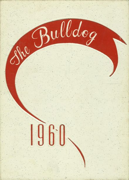 1960 Coahoma High School Yearbook Cover