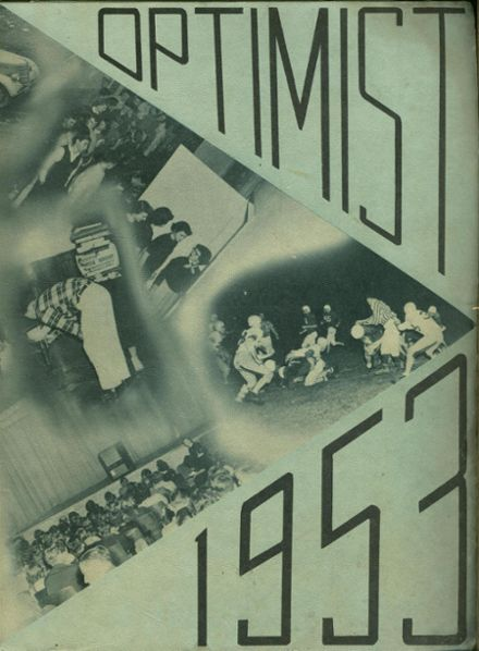 1953 Forest Grove High School Yearbook Cover