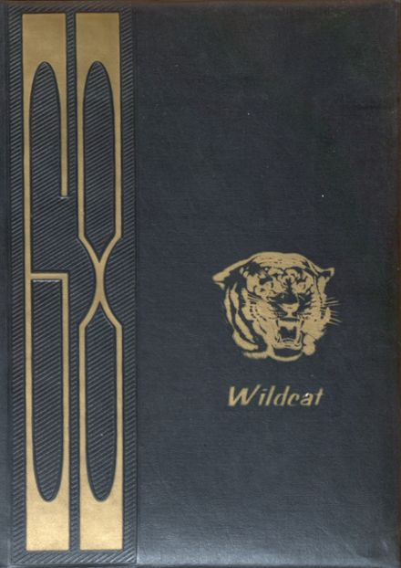 1968 Jewell High School Yearbook Cover