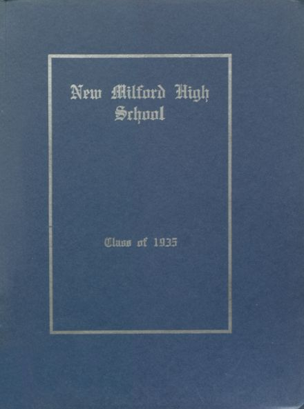 1935 New Milford High School Yearbook Page 1
