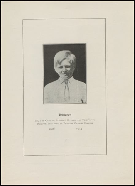 1935 New Milford High School Yearbook Page 5