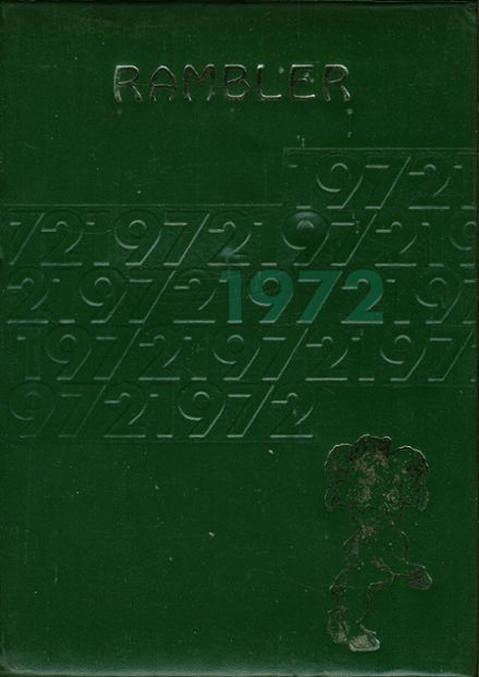 1972 Pine-Richland High School Yearbook Cover