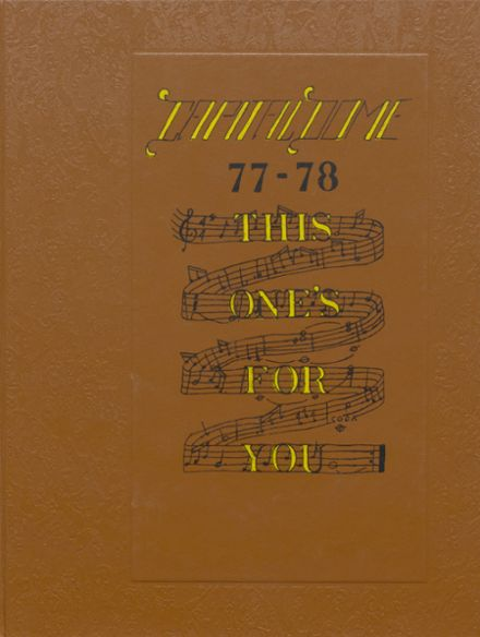 1978 Capital High School Yearbook Cover