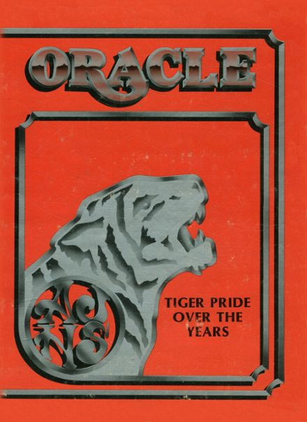 1984 Jackson High School Yearbook Cover