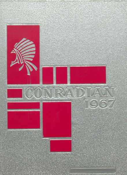 1967 Conrad High School Yearbook Cover